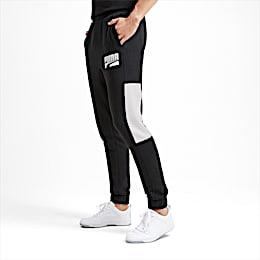 Rebel Block Men's Sweatpants, Puma Black, small
