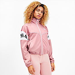 PUMA XTG Women's Track Jacket, Bridal Rose, small