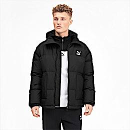 Classics Hooded Men's Down Jacket, Puma Black, small