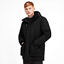 Epoch Storm Hooded Men's Down Jacket, Puma Black, small