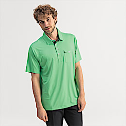 Donegal Men's Golf Polo, Irish Green, small