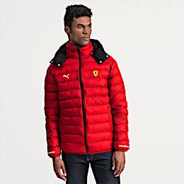 Ferrari Eco PackLITE Men's Jacket, Rosso Corsa, small