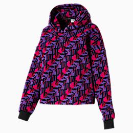 PUMA XTG Allover-Print Damen Fleece Hoodie