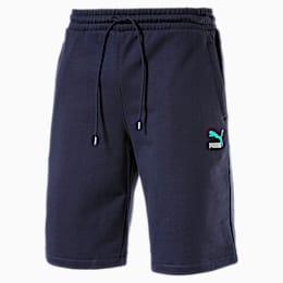 Classics Embroidered Logo Herren Shorts, Peacoat, small