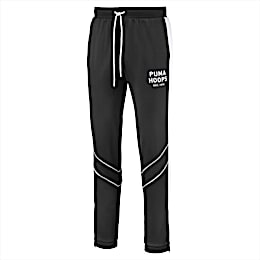 Hoops Since 73 Men's Track Pants, Puma Black-Puma White, small