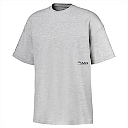 T-Shirt Evolution Boxy pour homme, Light Gray Heather, small
