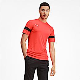 Herren Trainingsshirt, Nrgy Red-Puma Black, small