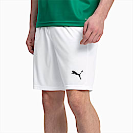Herren LIGA Core Shorts, Puma White-Puma Black, small