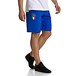 FIGC Men's Italia Fanwear Bermudas, Team Power Blue, small