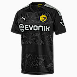 BVB Men's Away Replica Jersey, Puma Black, small