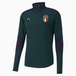 Italia Men's Training Top, Ponderosa Pine-Peacoat, small