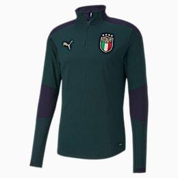 Italia Training Herren Sweatshirt, Ponderosa Pine-Peacoat, small