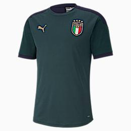 Italia Men's Training Jersey, Ponderosa Pine-Peacoat, small