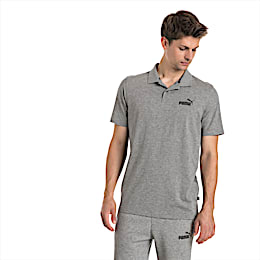 Polo Essentials Jersey pour homme, Medium Gray Heather, small