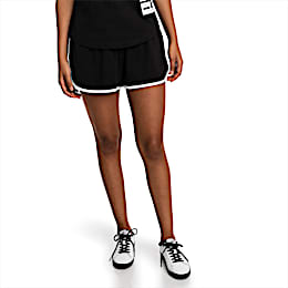 Summer Women's Shorts, Cotton Black, small