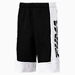 Alpha Jungen Bermuda-Sweatshorts, Cotton Black, small