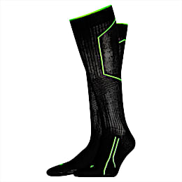 Paires de chaussettes genou Running Cell:, black, small