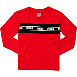 Amplified Pack Toddler Pieced Long Sleeve Tee, HIGH RISK RED, small