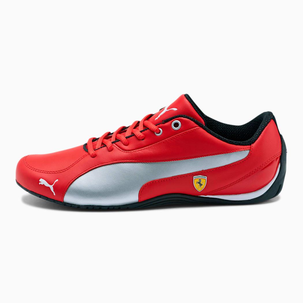 Scuderia Ferrari Drift Cat 5 NM Men's Shoes COLOR   Rosso Corsa-Puma White SIZE -8 (without box)