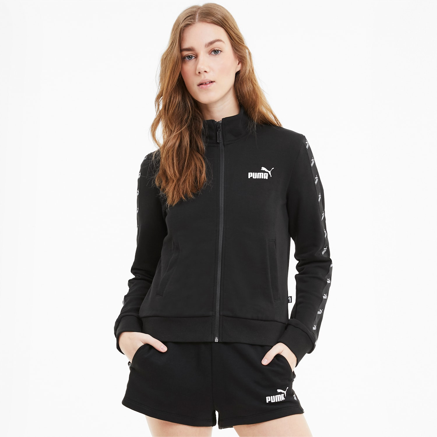Puma Amplified Womens Track Jacket