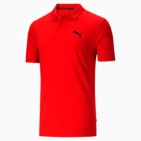 Deals on Puma Essentials Mens Jersey Polo Shirt