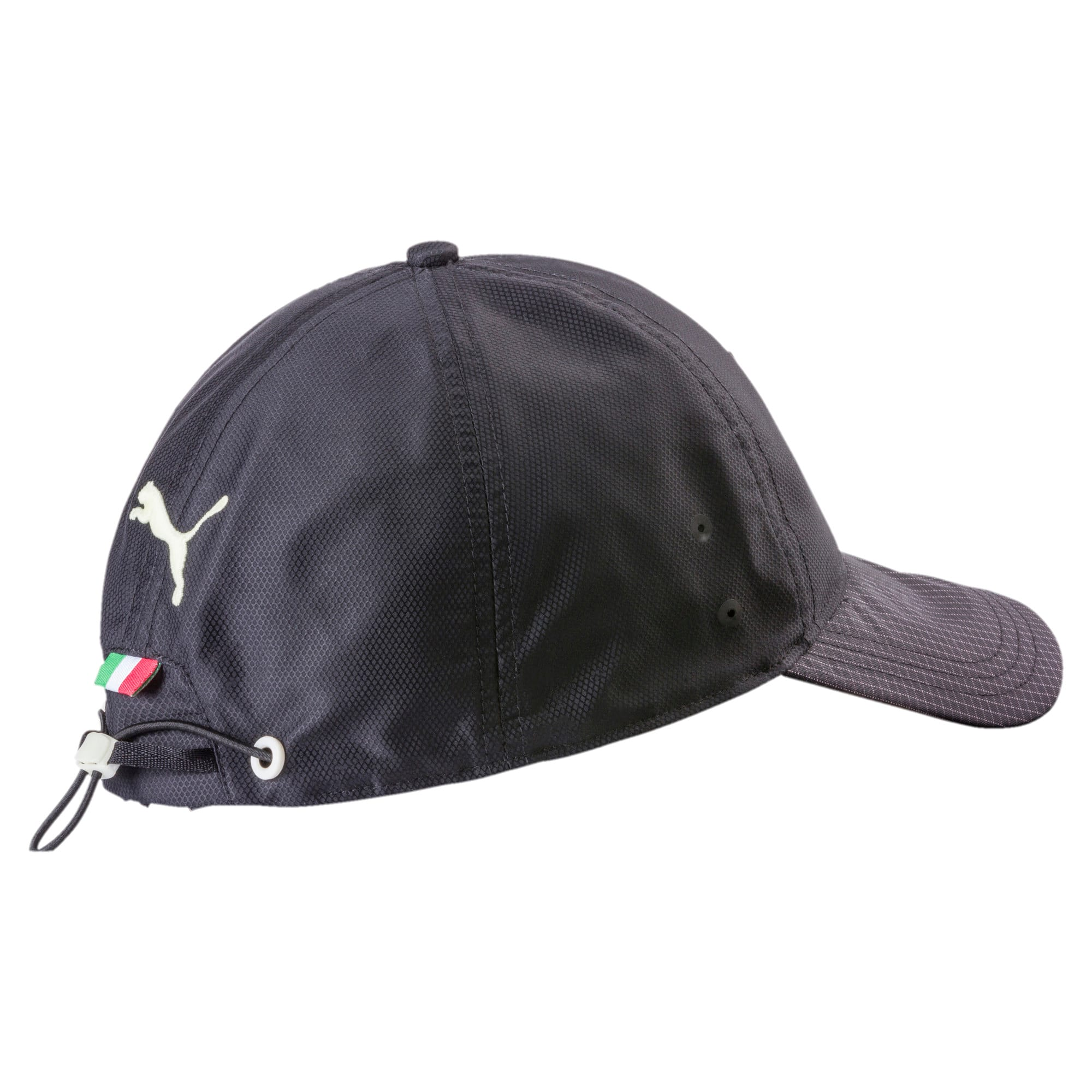 Thumbnail 2 of Ferrari Fanwear Night Baseball Hat, Puma Black, medium