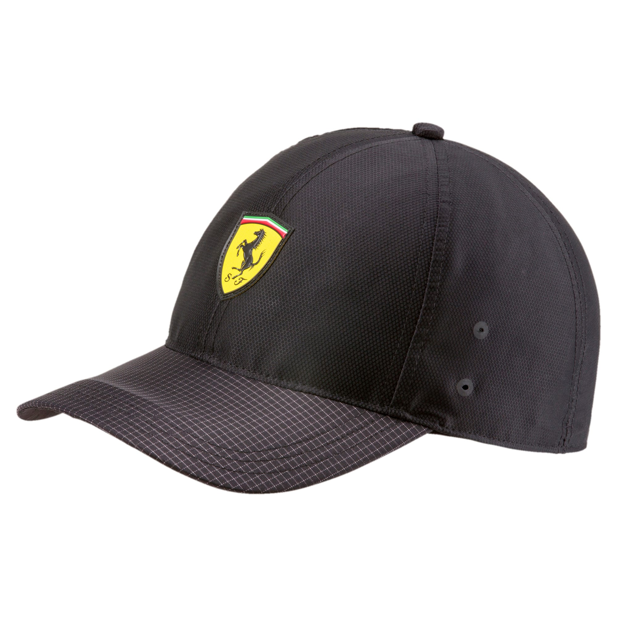 Thumbnail 1 of Ferrari Fanwear Night Baseball Hat, Puma Black, medium