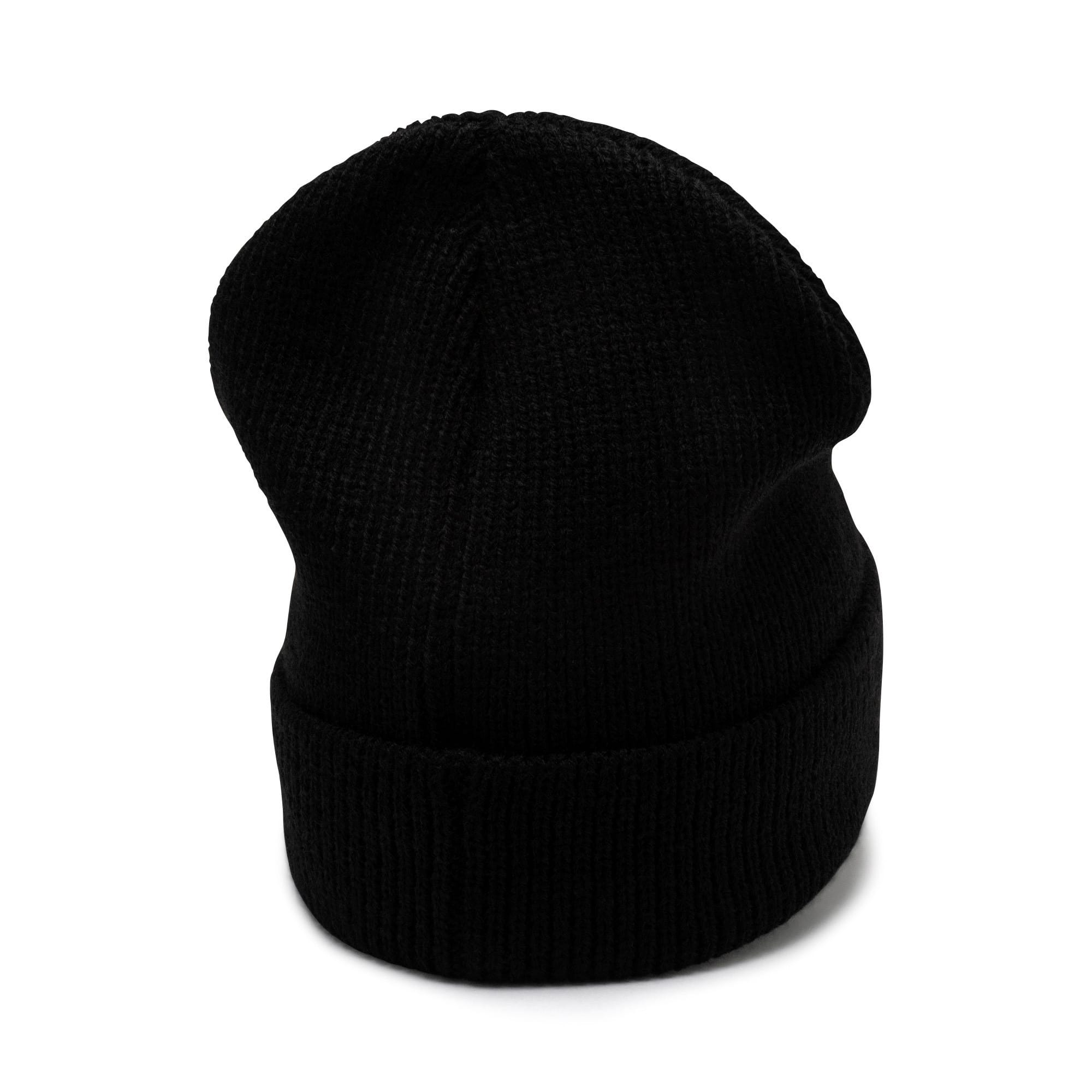 Thumbnail 2 of Classic Ribbed Beanie, Puma Black, medium