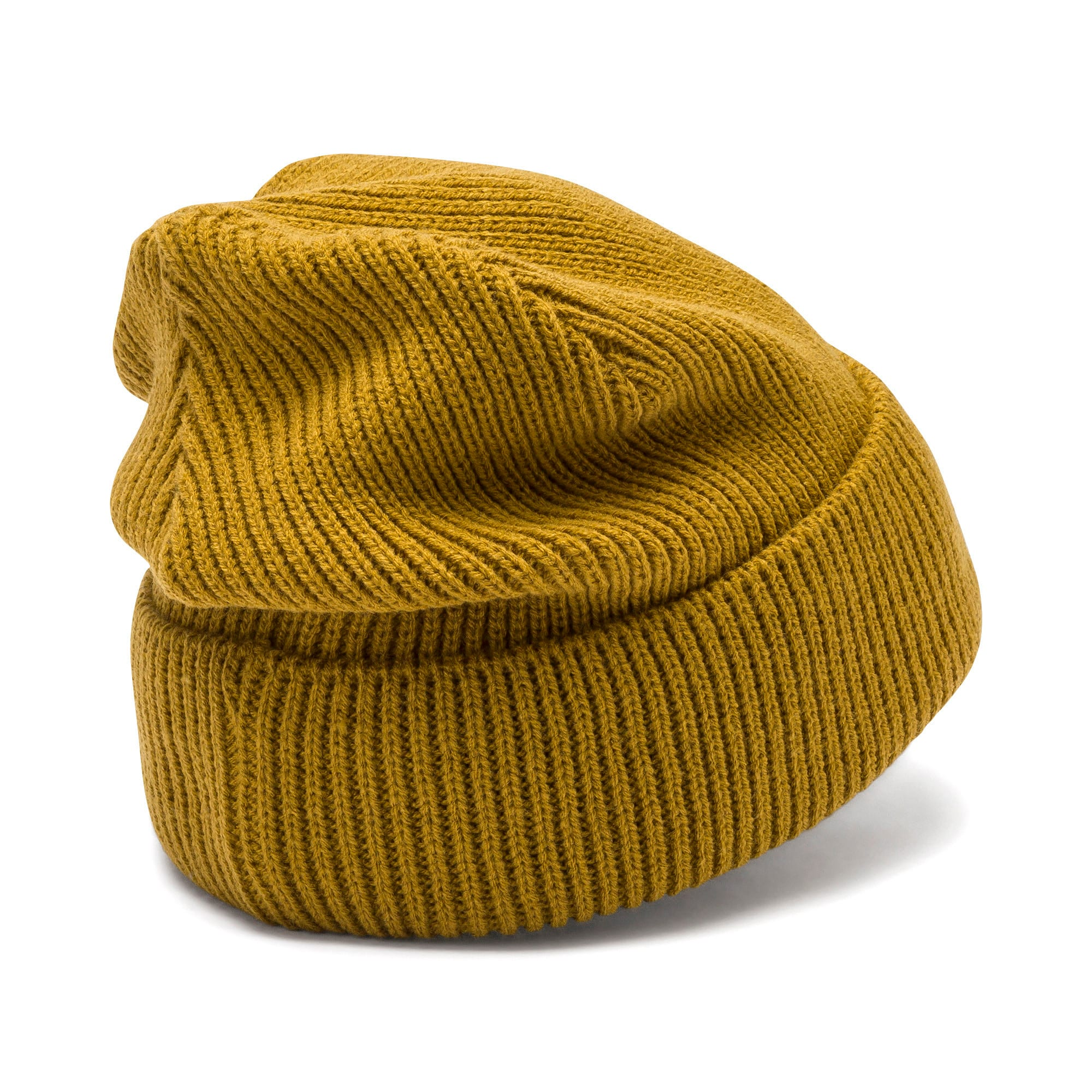Thumbnail 3 of Classic Ribbed Beanie, Moss Green, medium
