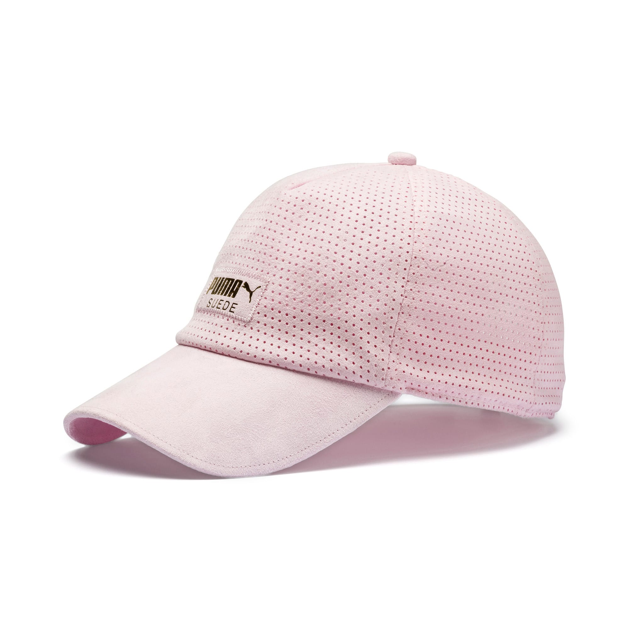 Thumbnail 1 of Suede Baseball Cap, Lilac Sachet, medium
