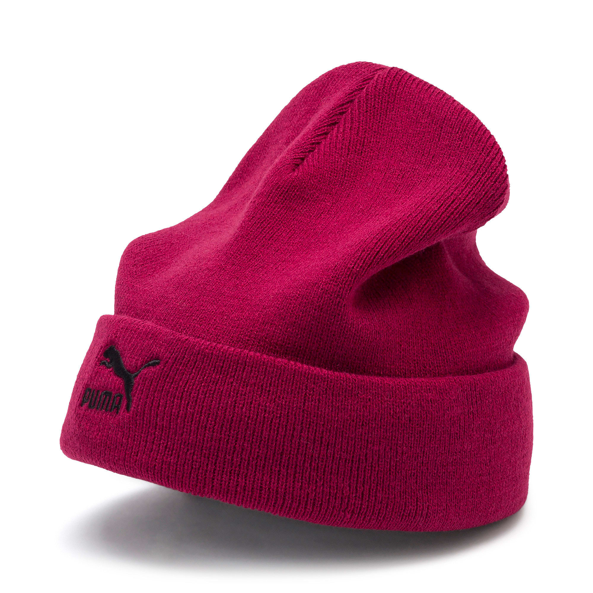 Archive Mid Fit Beanie, Rhubarb, large