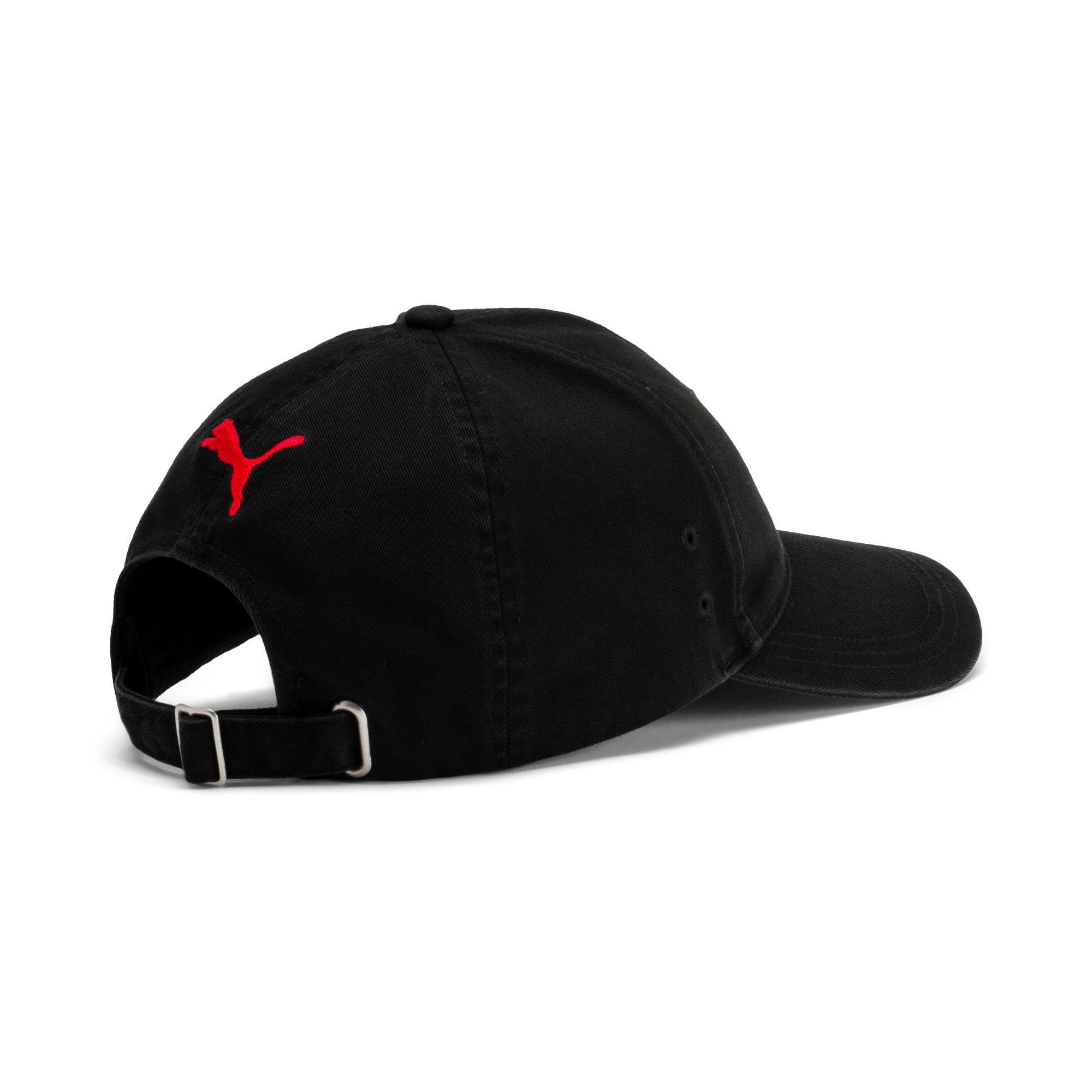 Thumbnail 2 of Scuderia Ferrari Fan Baseball Hat, Puma Black, medium