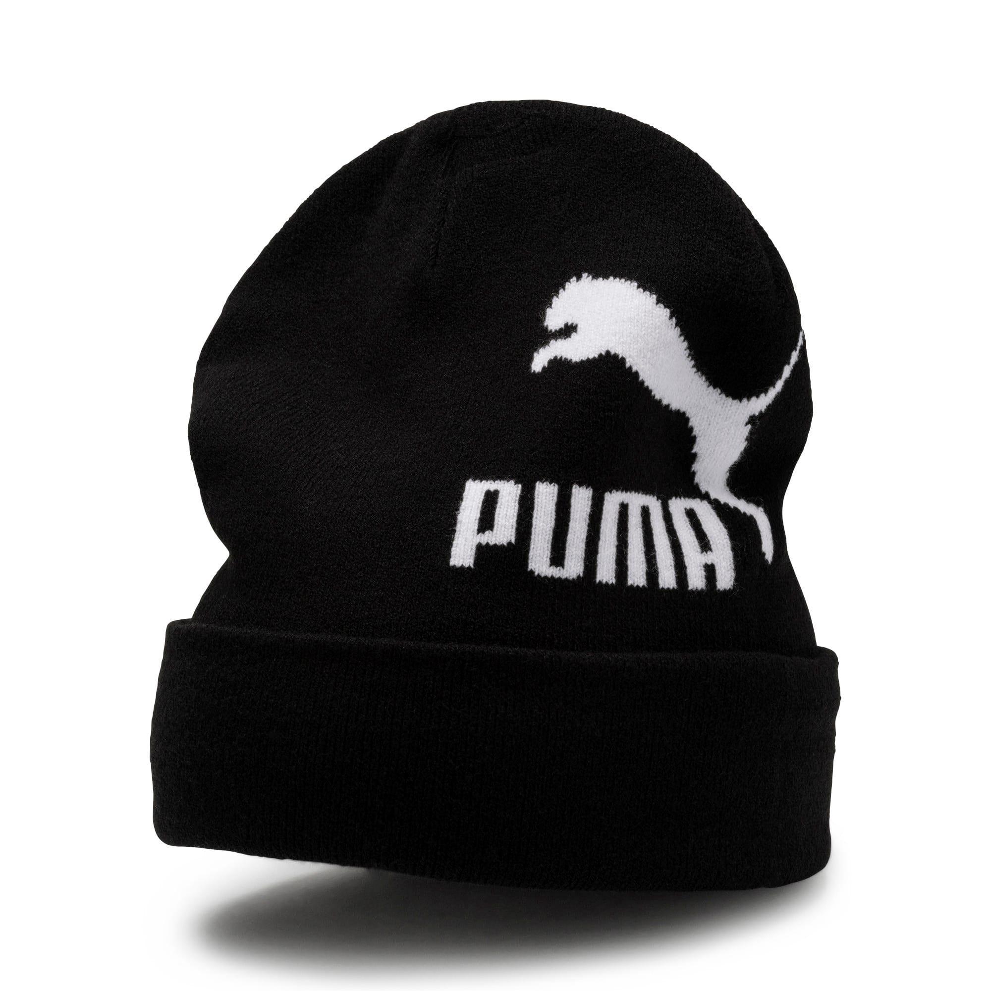 Thumbnail 1 of Archive Logo Beanie, Puma Black, medium-IND