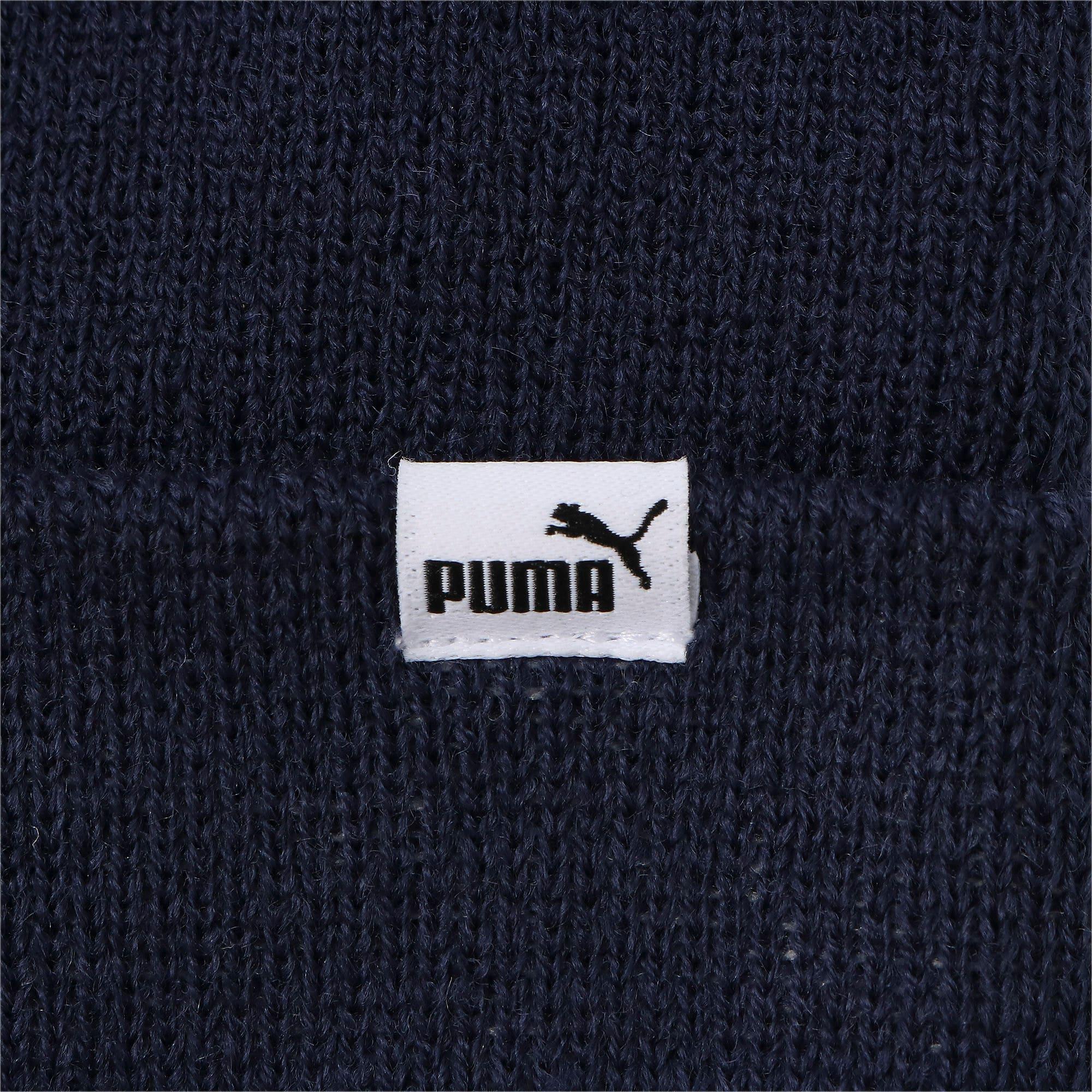 Thumbnail 4 of キッズ プーマ ミッドフィット ビーニー JR, Peacoat, medium-JPN