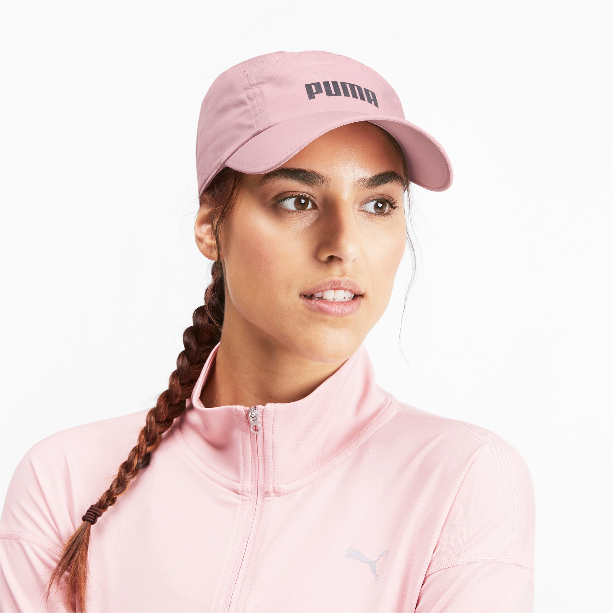 Gorra para correr Performance, Bridal Rose, grande