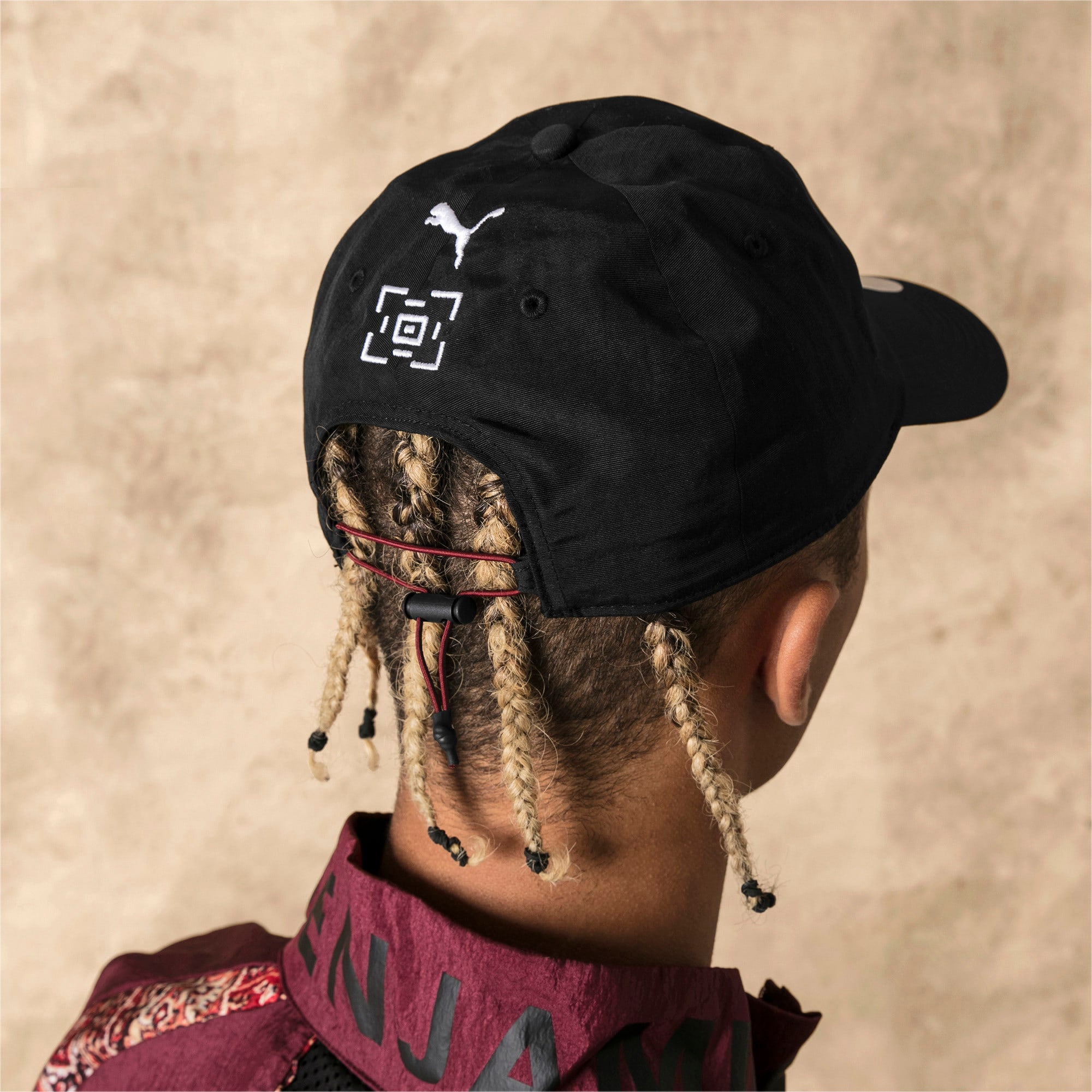 Thumbnail 4 of PUMA x LES BENJAMINS Cap, Puma Black, medium