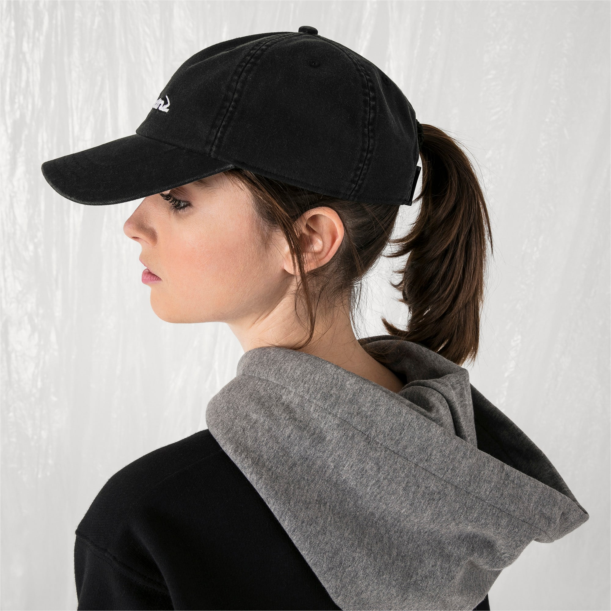 Thumbnail 6 of PUMA x SANKUANZ Baseball Cap, Puma Black, medium