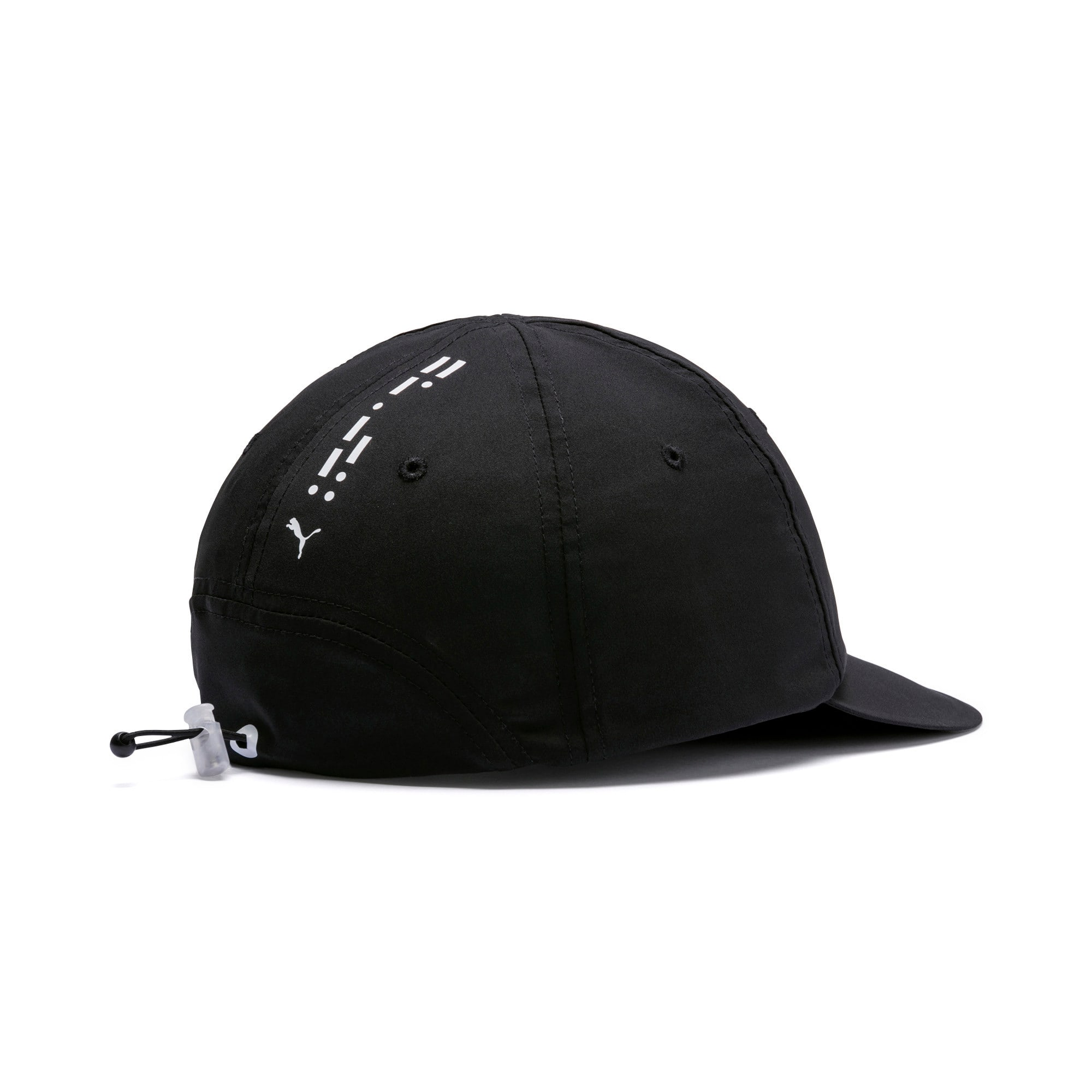 Thumbnail 2 of Epoch Low Curve Cap, Puma Black-Puma White, medium
