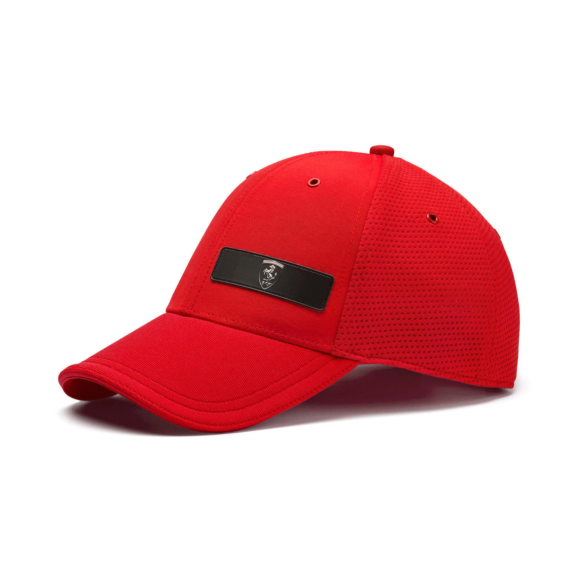 Thumbnail 1 of Scuderia Ferrari LS Baseball Cap, Rosso Corsa, medium