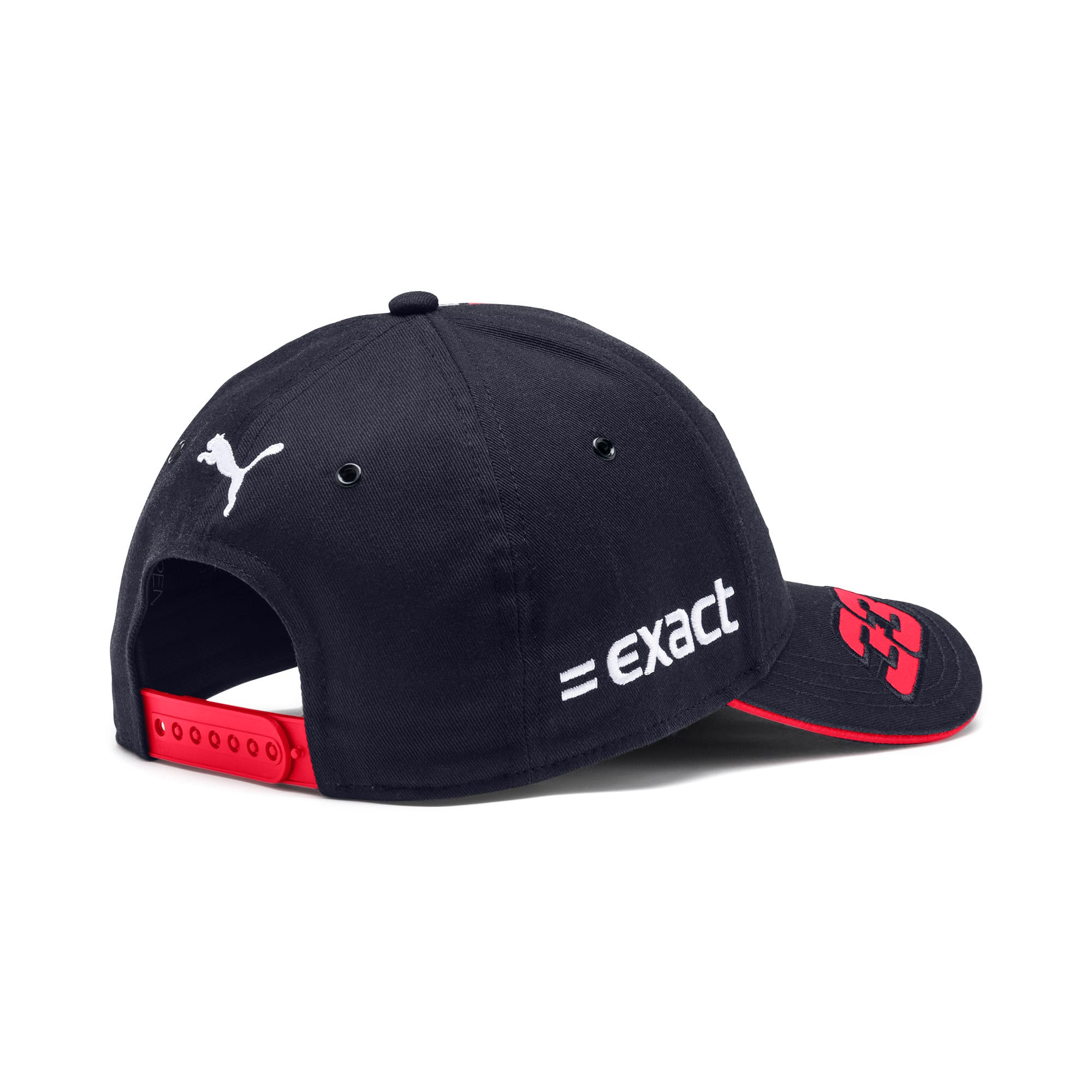 Thumbnail 2 of Red Bull Racing Replica Verstappen Baseball Cap, NIGHT SKY-Chinese Red, medium