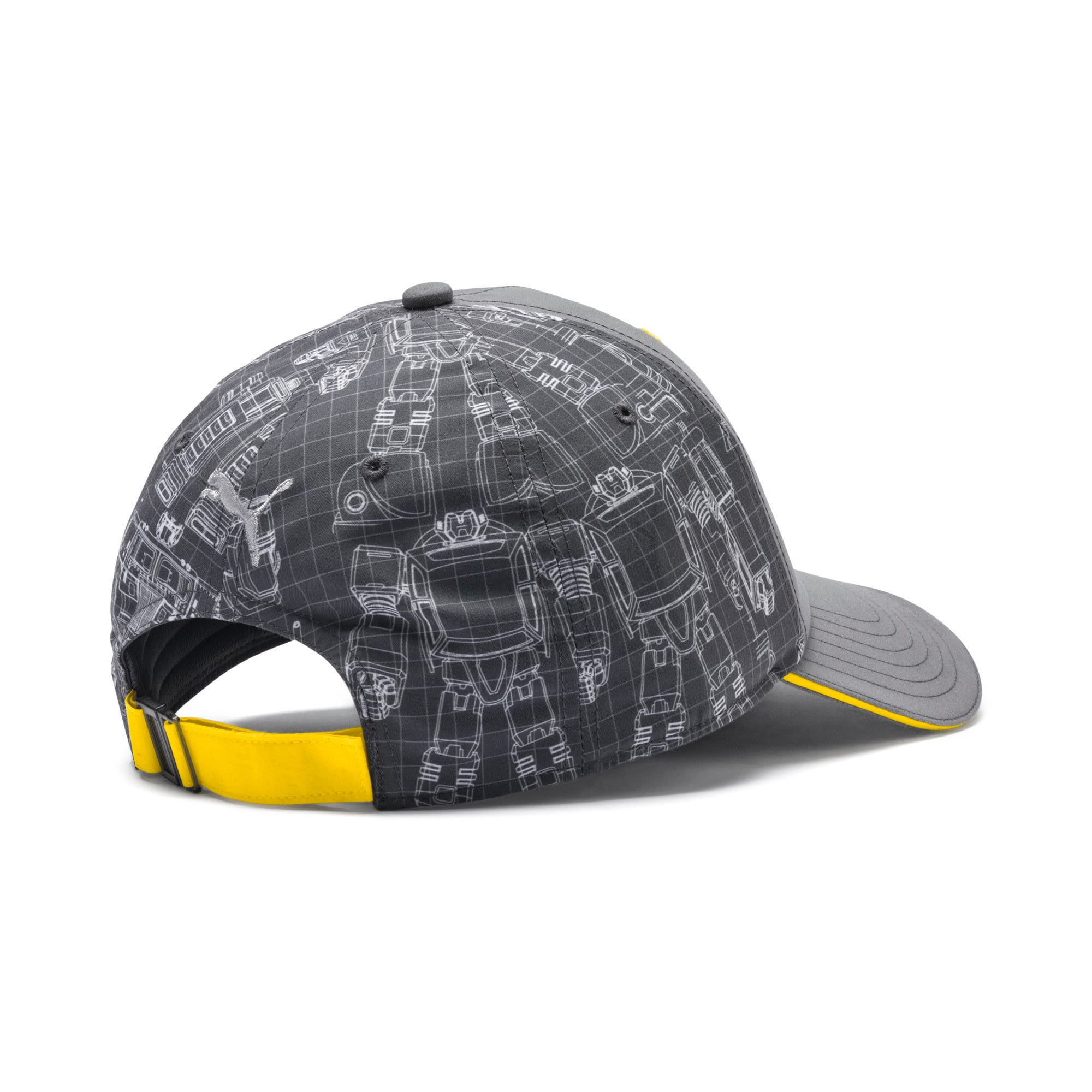 Thumbnail 2 of PUMA x TRANSFORMERS baseball-pet, QUIET SHADE-Cyber Yellow, medium