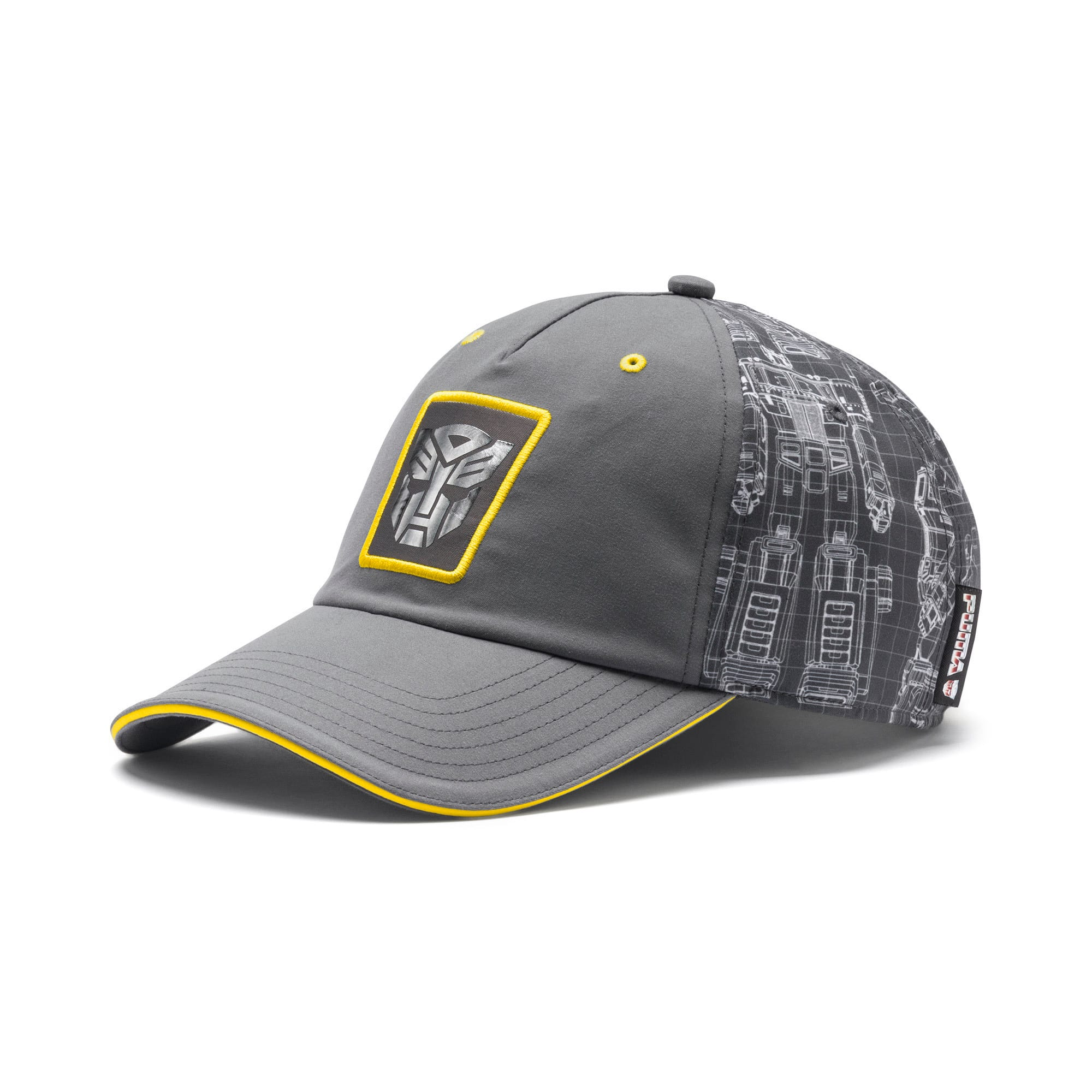 Thumbnail 1 of PUMA x TRANSFORMERS baseball-pet, QUIET SHADE-Cyber Yellow, medium