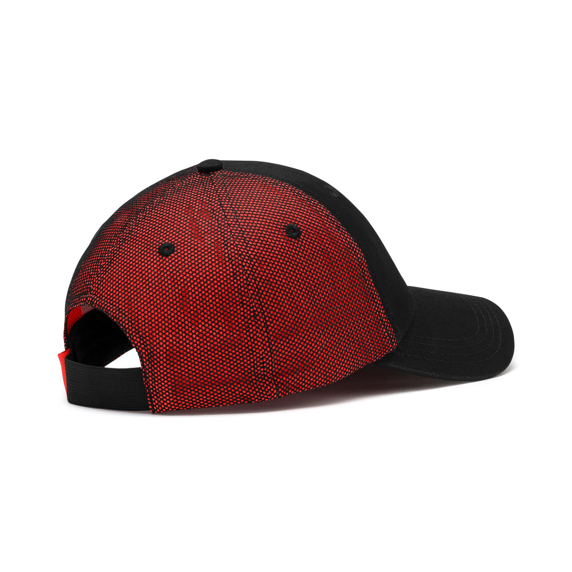 Thumbnail 2 of ftblNXT Cap, Puma Black-Nrgy Red, medium