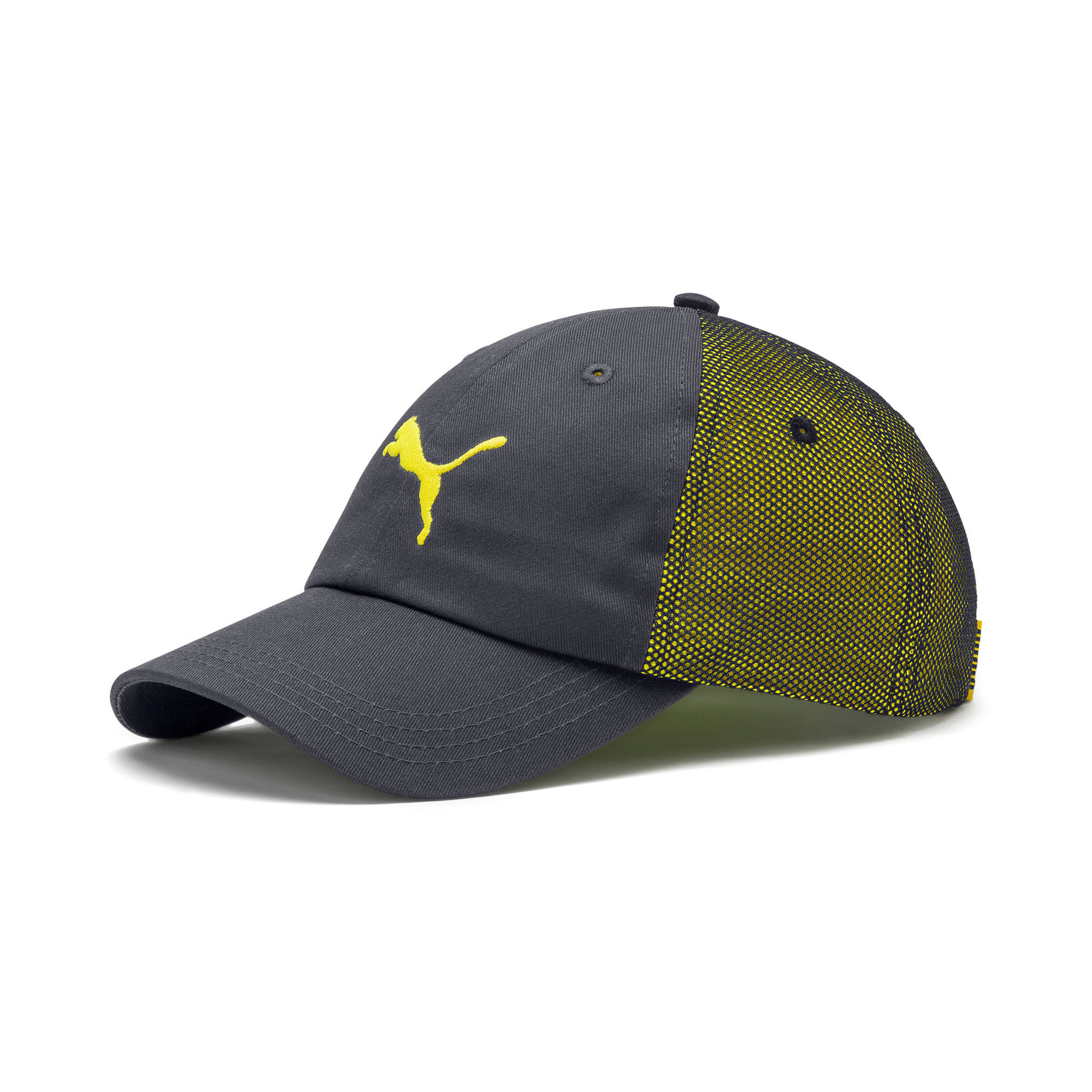Thumbnail 1 of ftblNXT Cap, Ebony-Yellow Alert, medium