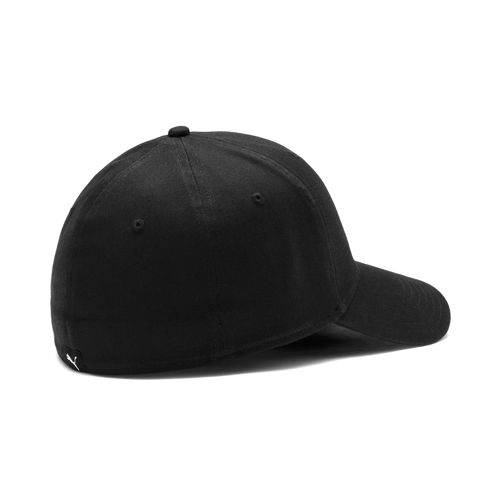Miniatura 3 de Gorra de béisbol Stretchfit, Puma Black, mediano