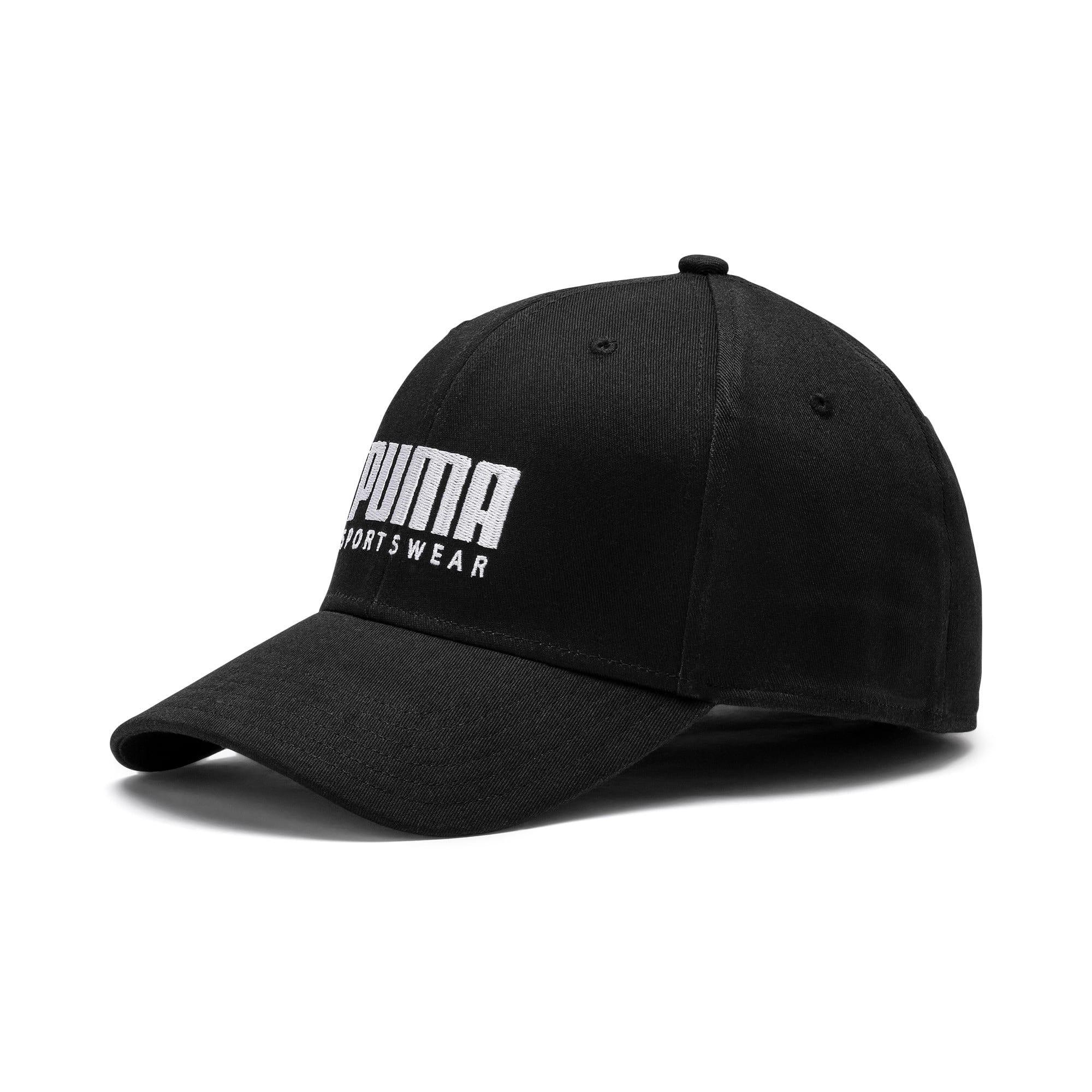 Miniatura 1 de Gorra de béisbol Stretchfit, Puma Black, mediano