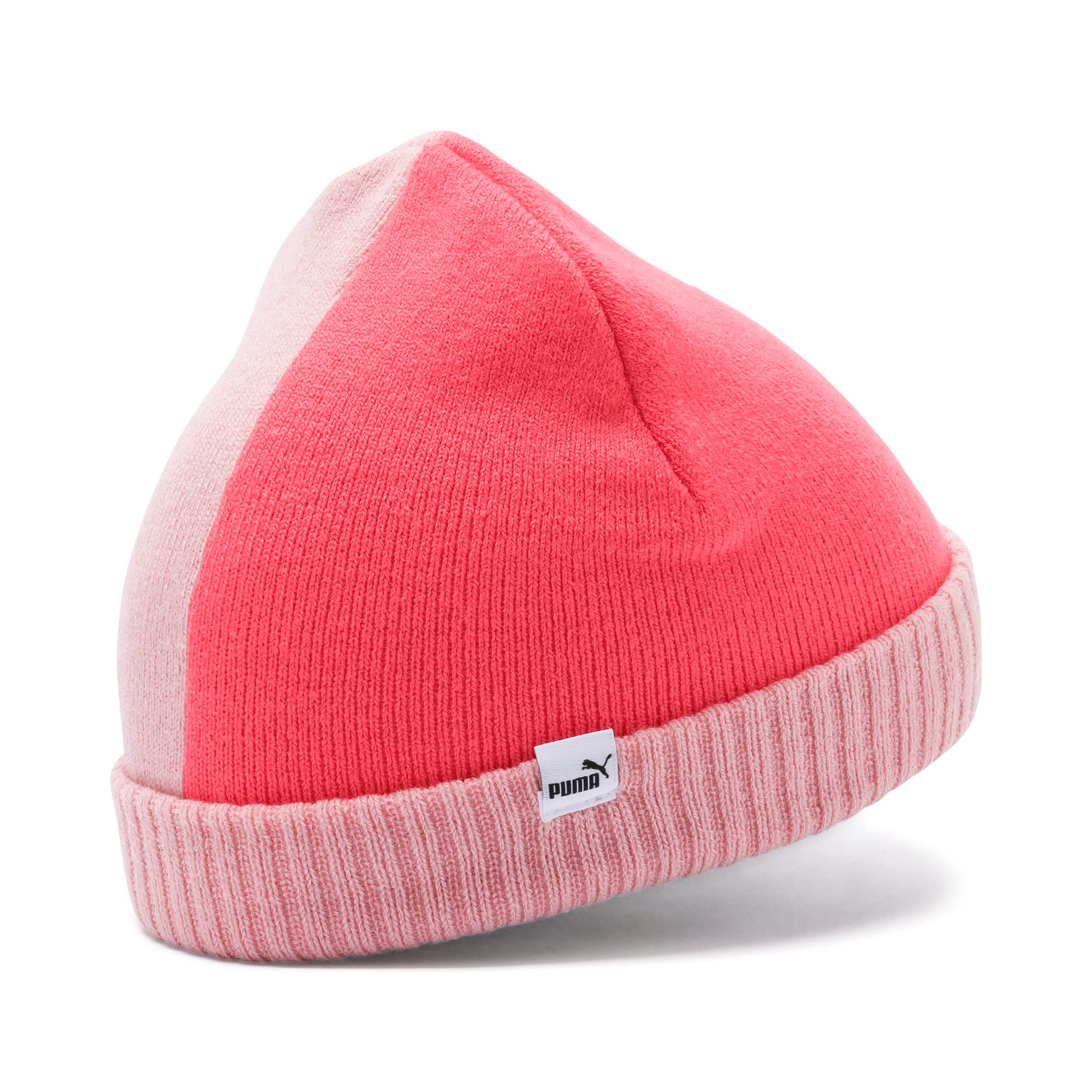 Thumbnail 2 of Minicats Kids' Beanie, Bridal Rose-Calypso Coral, medium