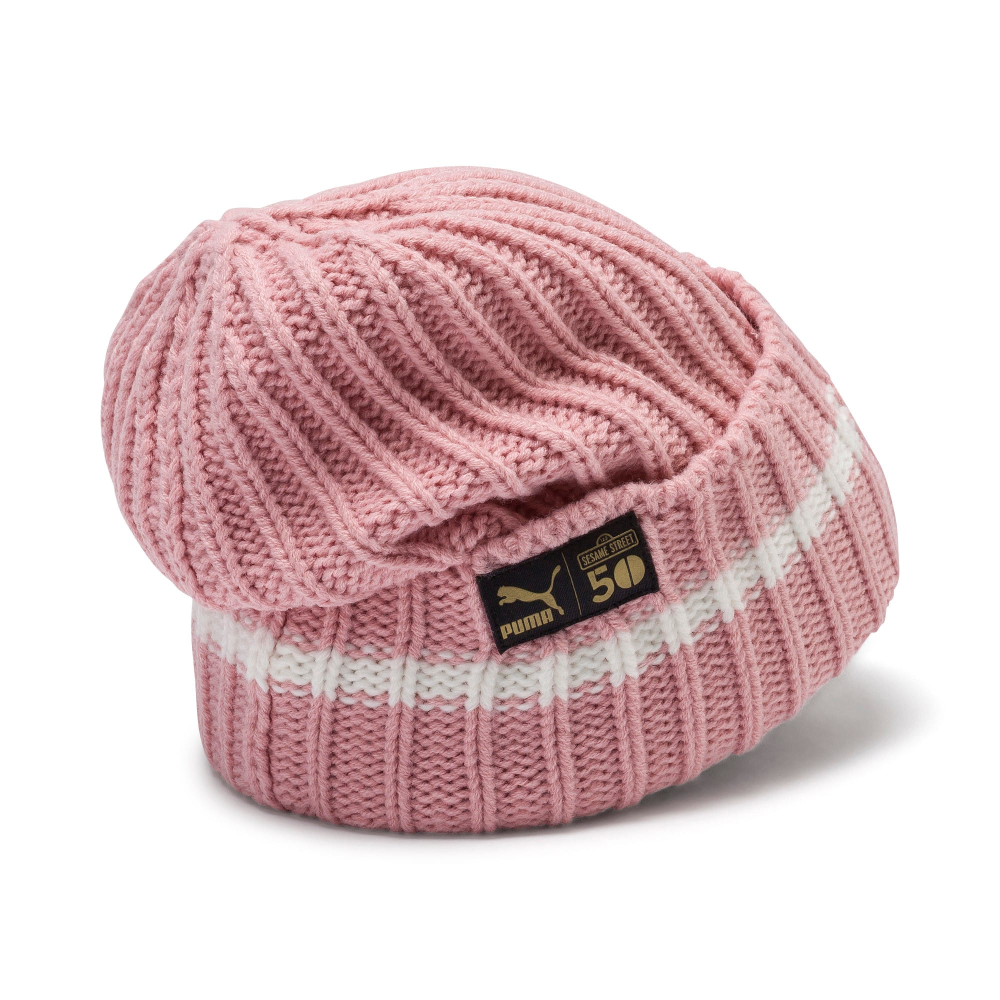 Thumbnail 2 of PUMA x SESAME STREET Kids' Beanie, Bridal Rose, medium