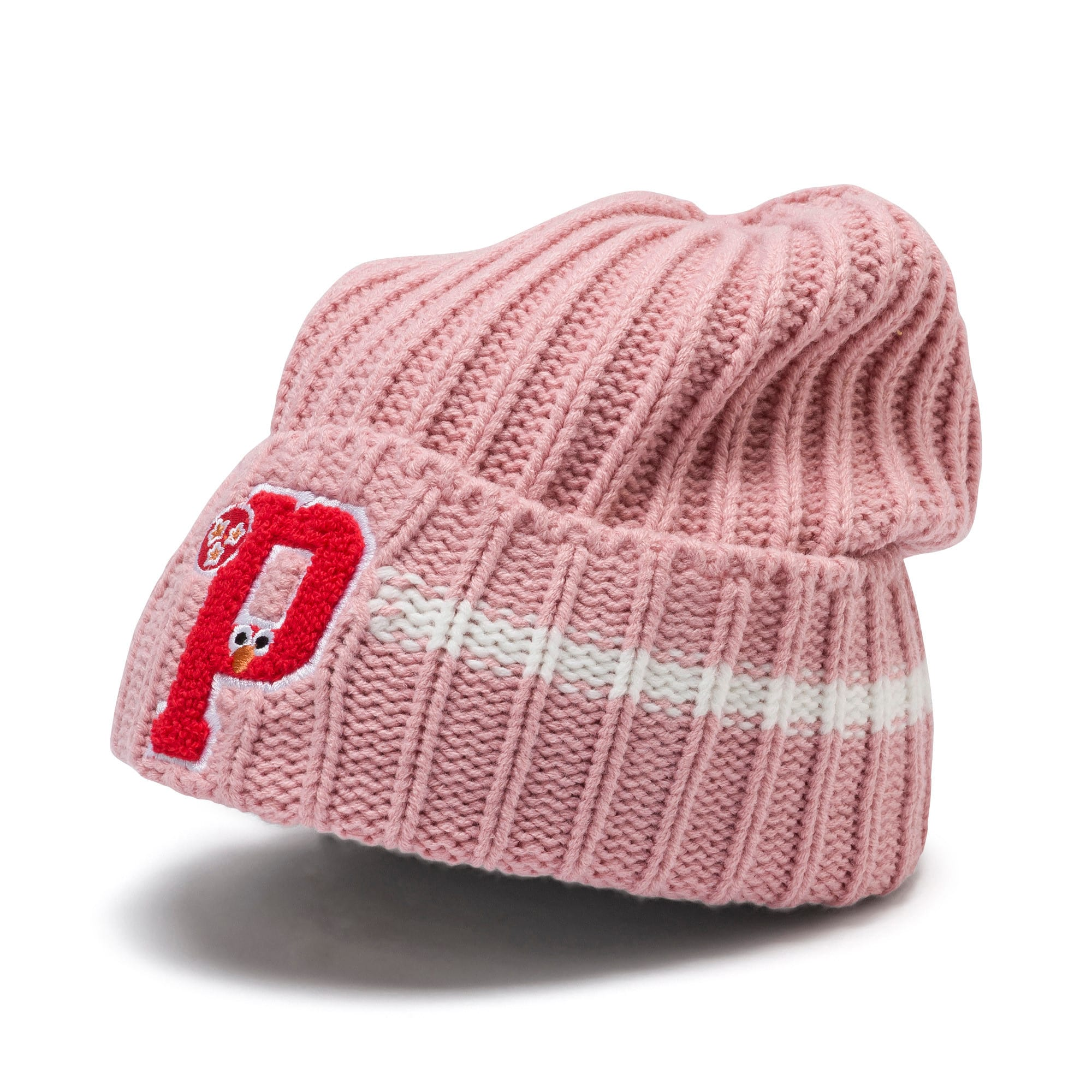 Thumbnail 1 of PUMA x SESAME STREET Kids' Beanie, Bridal Rose, medium