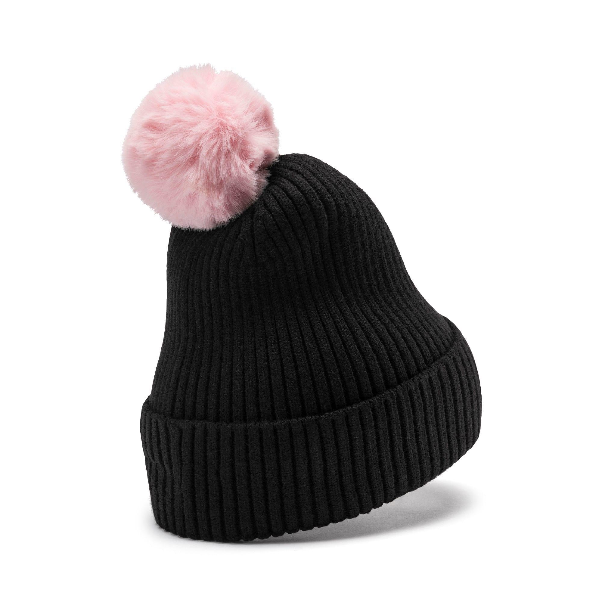 Miniatura 2 de Gorro de lana Shift para mujer, Puma Black-Bridal Rose, mediano